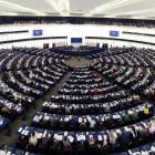 Plenary hall of European parliament in Strasbourg, April 16, 2013