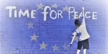 Time for peace graffiti