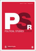 Political Studies Review cover