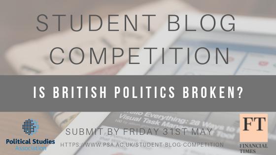 Student Blog Competition   The Political Studies Association (PSA)
