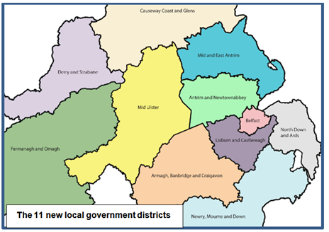 Boundary body rejects 'gerrymandering' accusation as it ... |Gerrymandering Northern Ireland